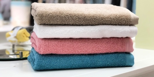 6-Piece Bath Towel Set Only $13.48 at JCPenney (Regularly $120)