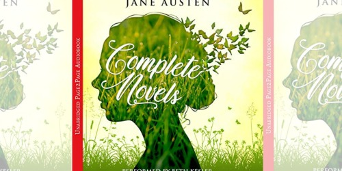 Jane Austen The Complete Novels Audiobook Only 82¢ at Amazon