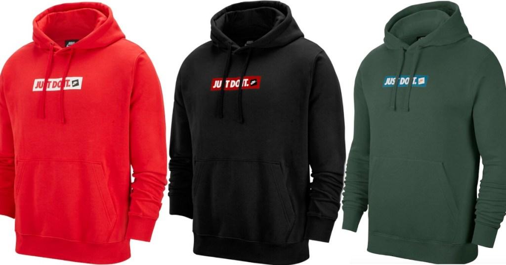 Just Do It men's hoodies
