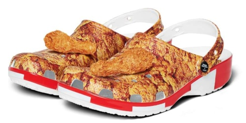KFC-Inspired Crocs and Chicken-Scented Jibbitz Are Coming this Spring