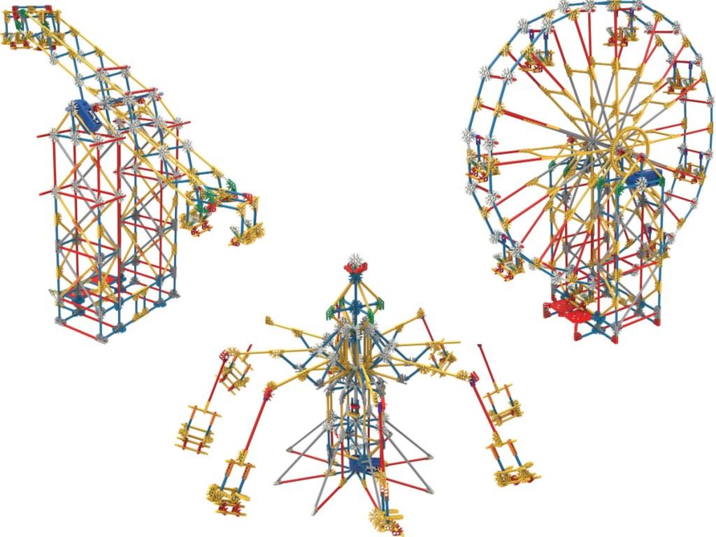 toy amusement park building set