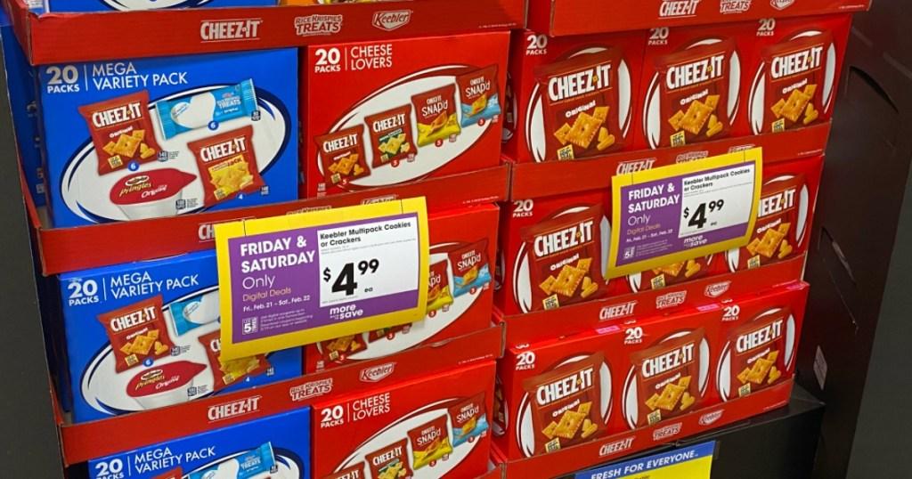 Keebler snack multipacks