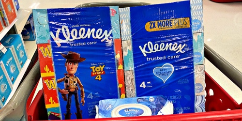 EIGHT Boxes of Kleenex Tissues & Kleenex Wipes 56-Count Only $6.99 at Target