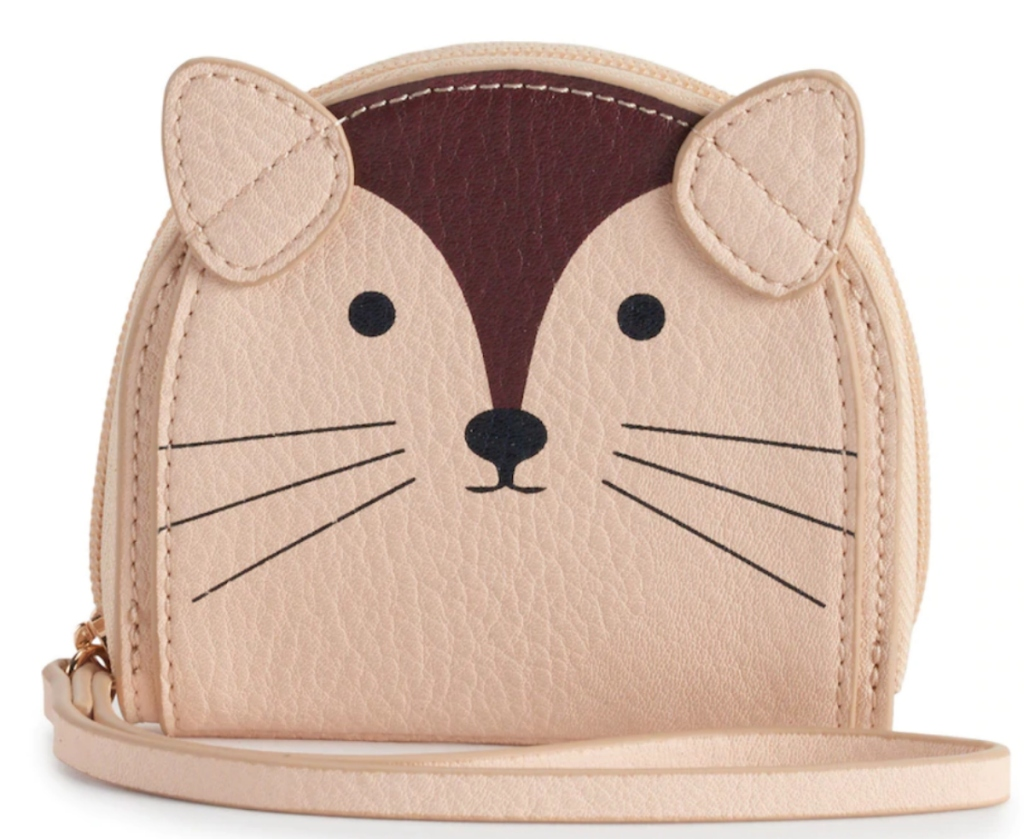 LC Lauren Conrad Animal Coin Pouch