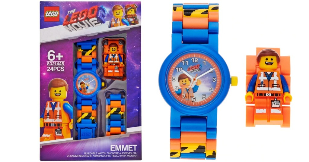 LEGO Emmet watch and box