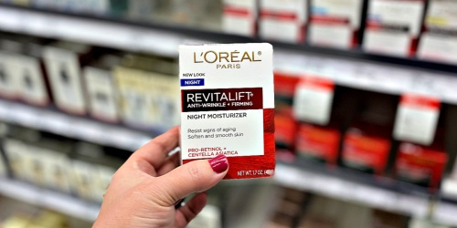 New L'Oreal Coupons = Revitalift Moisturizers as Low as $8.49 Each After Target Gift Card