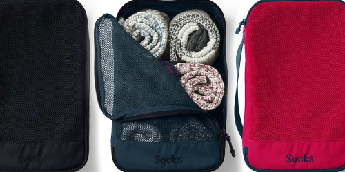 Lands' End Travel Packing Cubes as Low as $6.47 Shipped (Regularly $13)