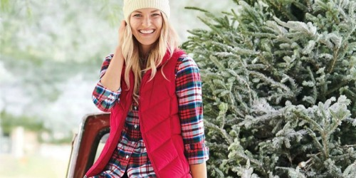 Lands' End Women's Down Puffer Vest Only $14.98 Shipped (Regularly $60)