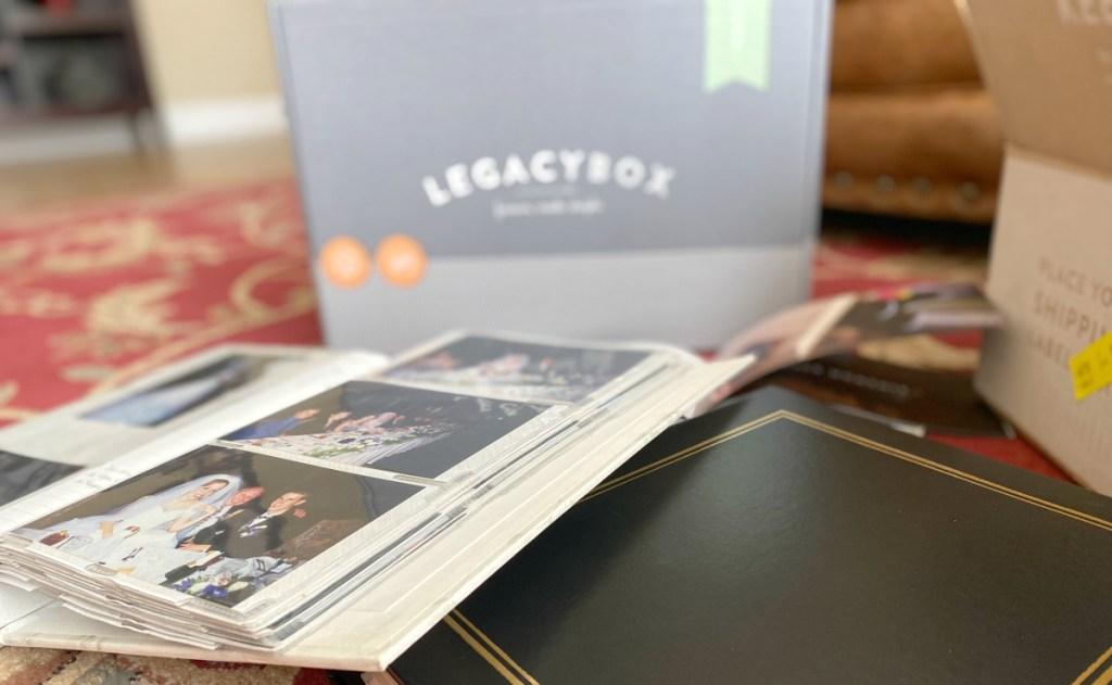 Legacybox wedding photos