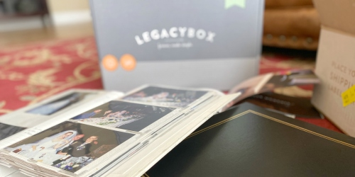 Preserve Your Past Memories with Legacybox | Score Up to 55% Off with Our Exclusive Promo Code