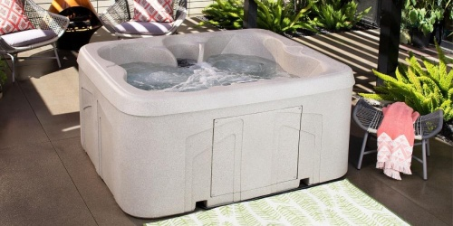 Up to 50% Off Hot Tubs on Home Depot