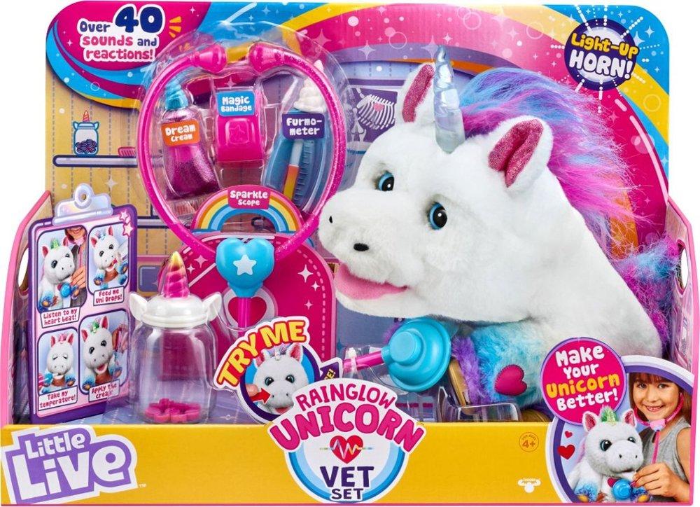Little LIve Pets Unicorn Vet Set in box