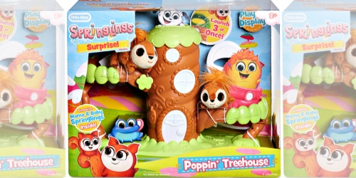 Little Tikes Springlings Surprise Poppin' Treehouse Set Only $9.99 (Regularly $30)