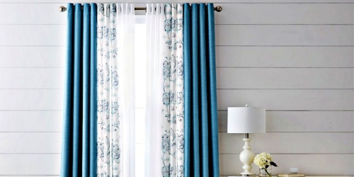Up to 80% Off Window Treatments at JCPenney
