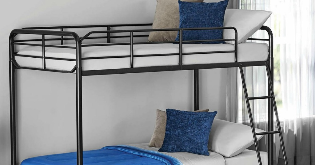 Mainstays Bunk Bed in Black