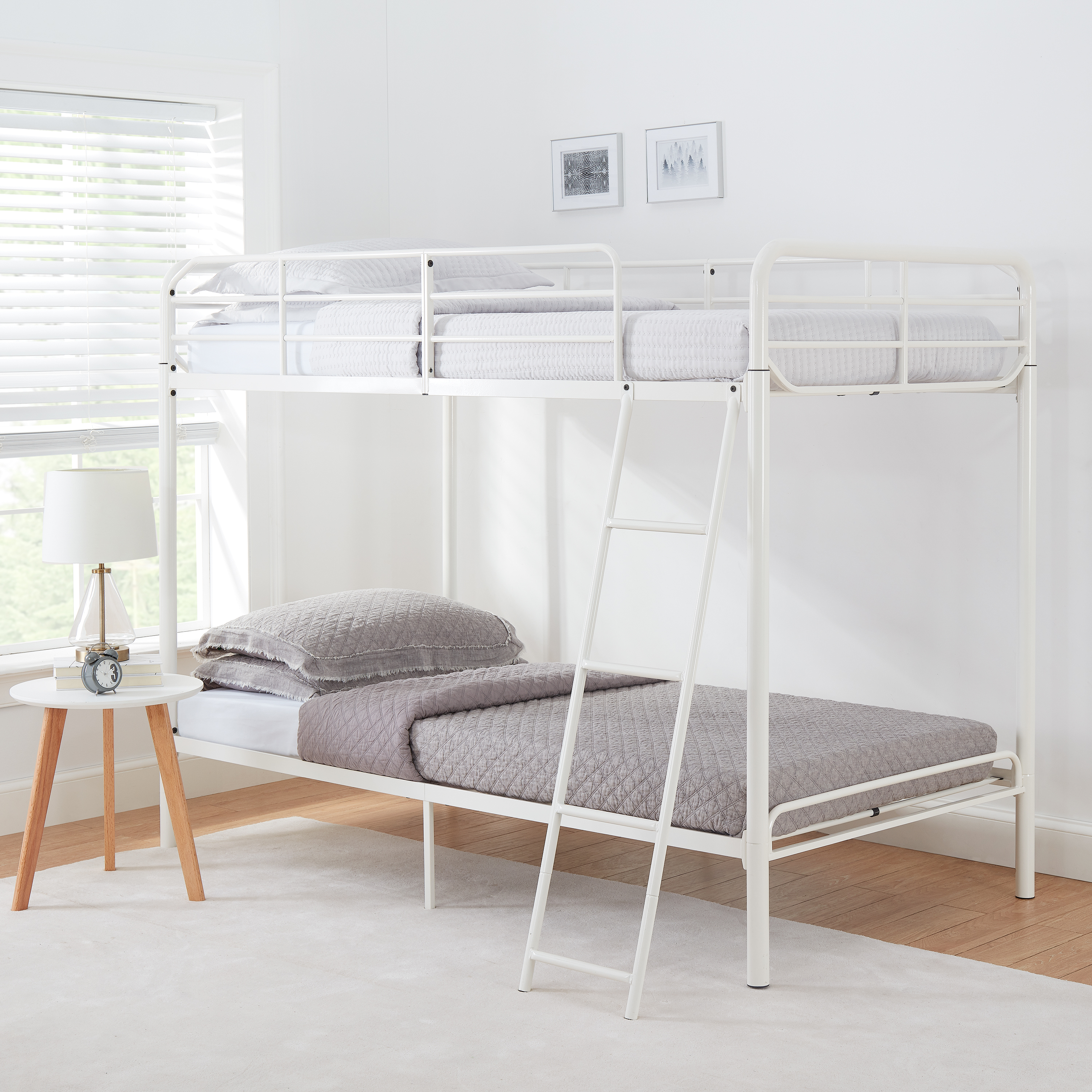 Picture of: Mainstays Metal Bunk Bed Only 99 Shipped On Walmart Com Regularly 140 Hip2save