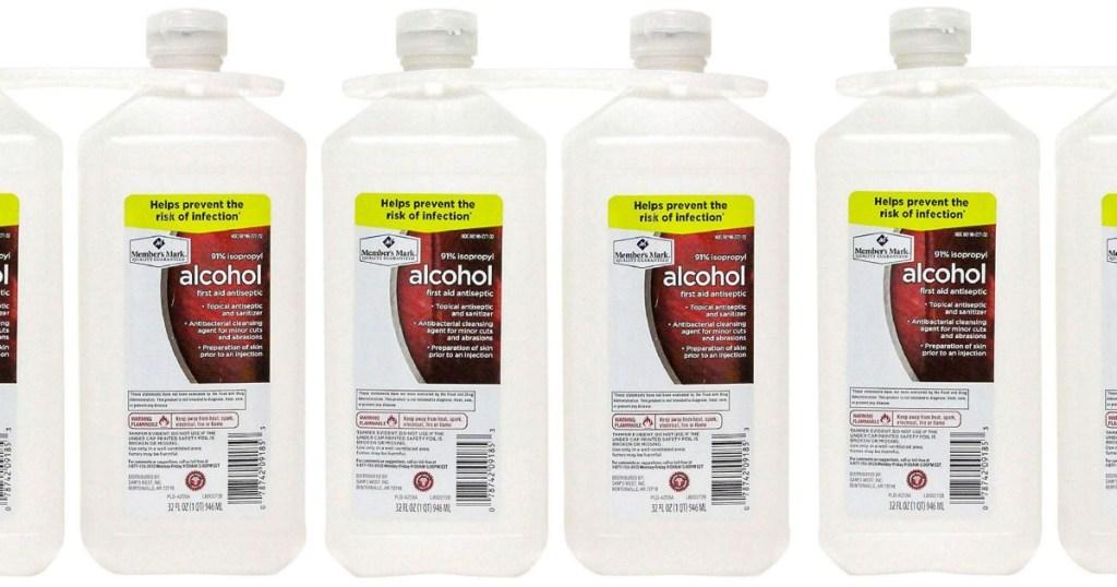 2 pack bottles Members Mark Alcohol
