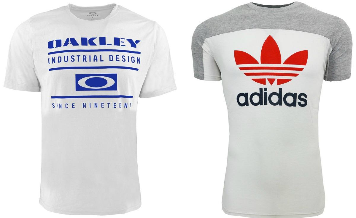 Oakley and Adidas tees