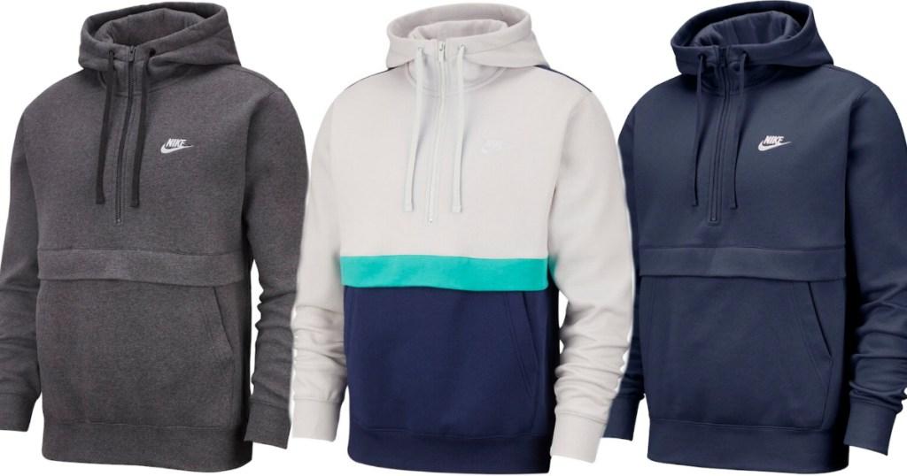 Men's nike fleece hoodies