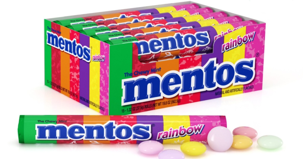 Mentos Chewy Candies Rainbow