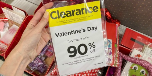 90% Off Valentine's Clearance at Michaels | Crafts, Gift Bags & More