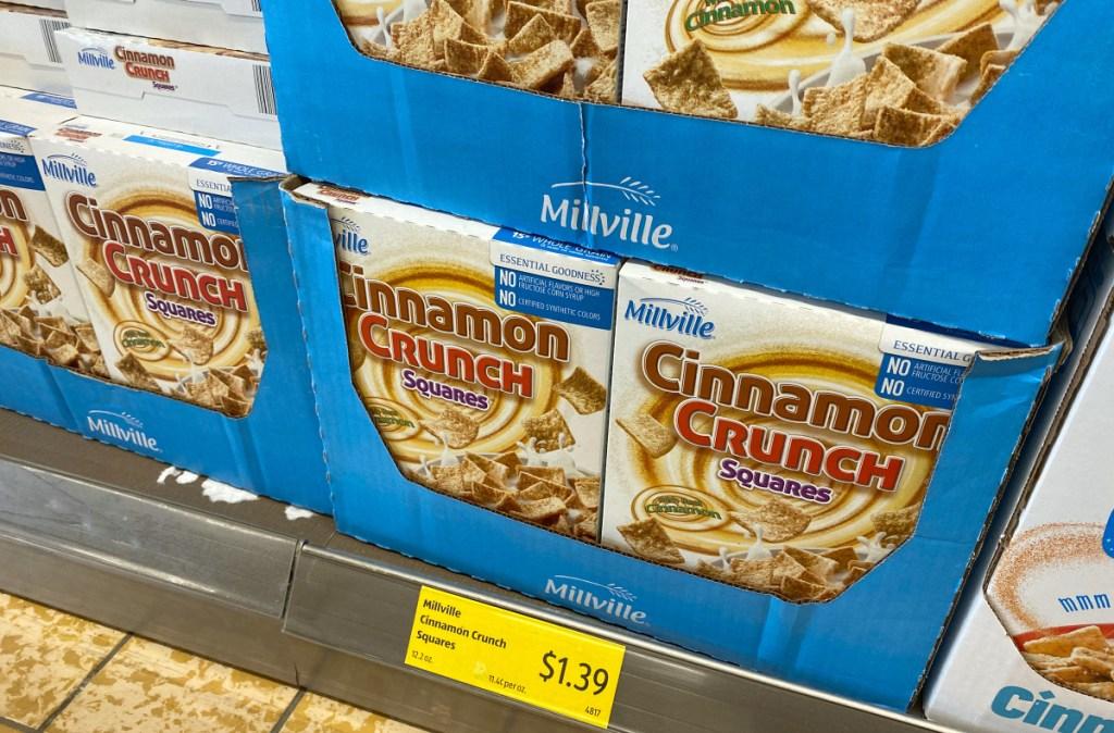 ALDI Millville Cinnamon Crunch