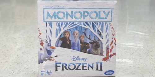 Monopoly Frozen 2 Game Only $7.94 (Regularly $16)