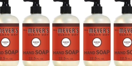 Mrs. Meyer's Hand Soap Only $2.50 Shipped or Less on Amazon (Regularly $4)