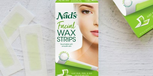 Nad's Facial Wax 20-Count Strips Only $2 Shipped or Less on Amazon