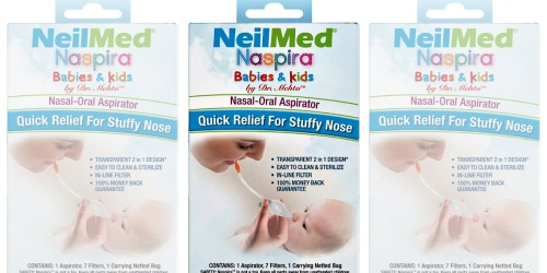 Naspira Nasal-Oral Aspirator Only $7 Shipped or Less | Great Baby Shower Gift