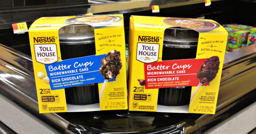 Nestle Toll House Batter Cups at Walmart