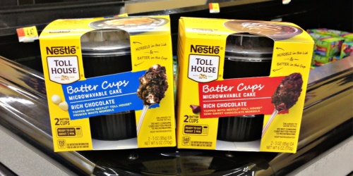 NEW Nestlé Toll House Batter Cups Now Available at Walmart