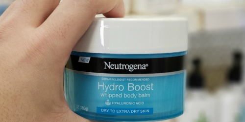 NEW $3/1 Neutrogena Hydro Boost or Rapid Product Coupon