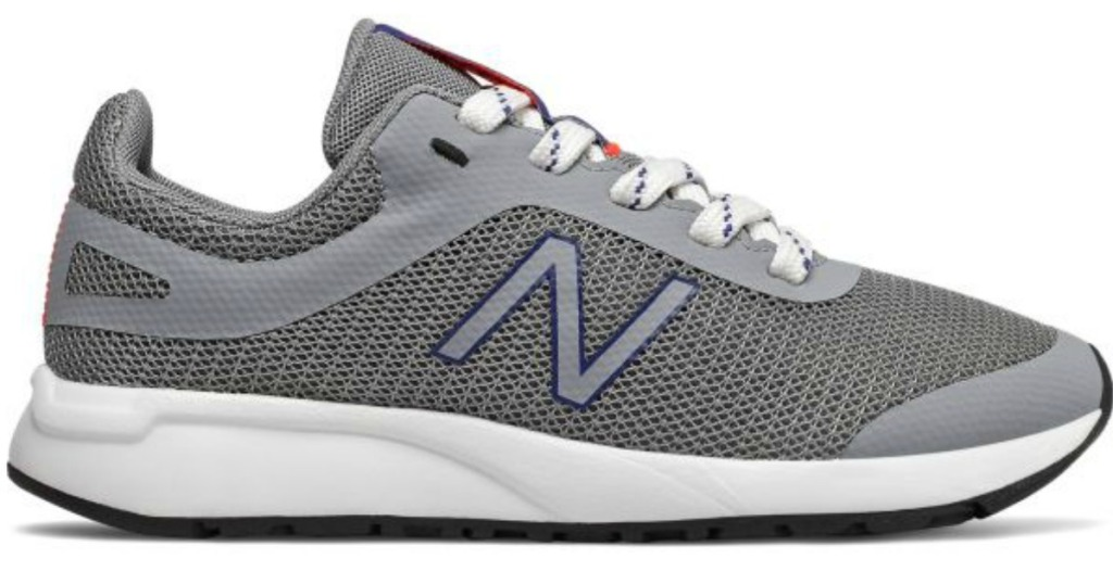 New Balance Kids 455v2 Shoes in gray