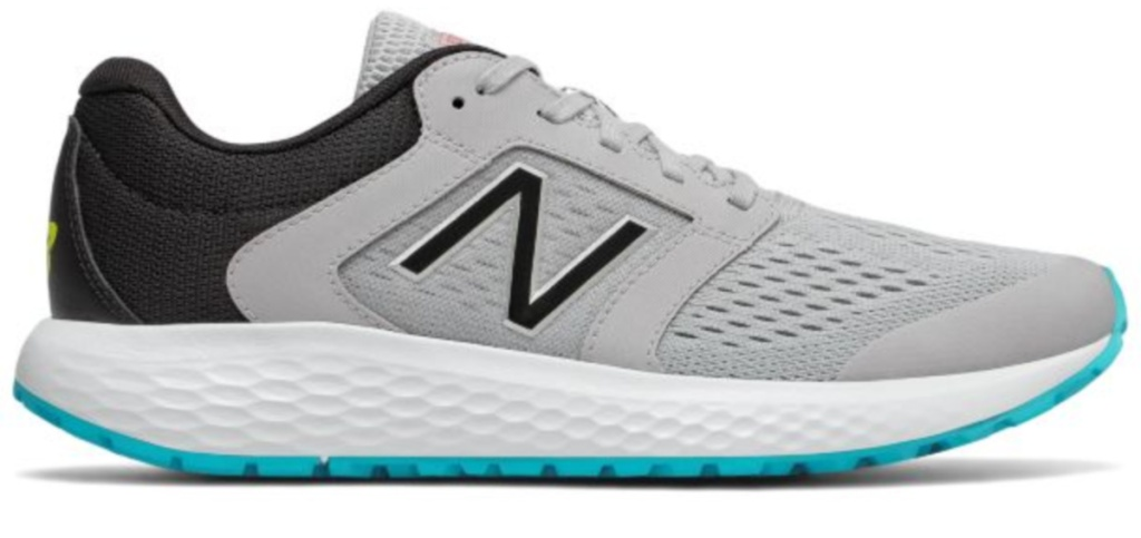 New Balance Mens Grey, Black, and Blue 520v5 Shoes