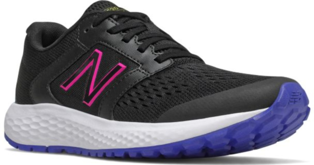 stock image of New Balance Women's Purple, Black, and Pink 520v5 Shoes