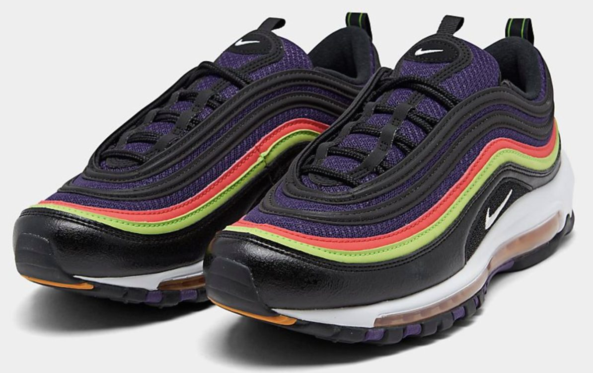 Multi-colored sneakers