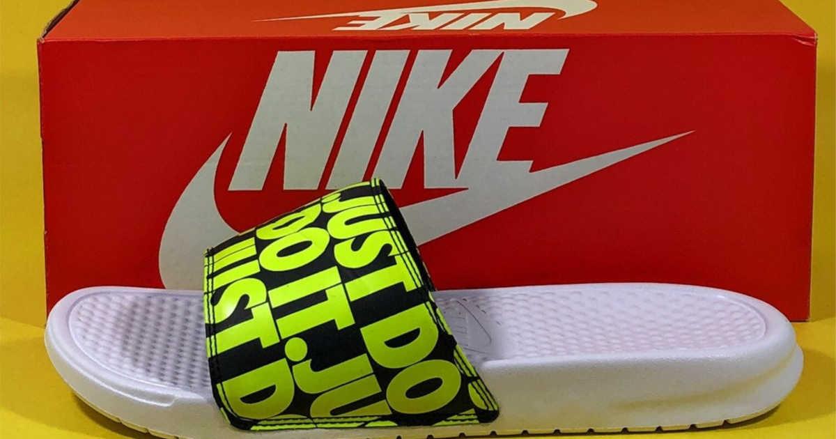 60% Off Nike Slides + FREE Shipping