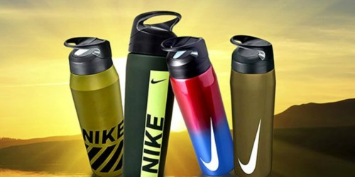 Nike Water Bottles Just $9.99 on Woot! (Regularly up to $32)
