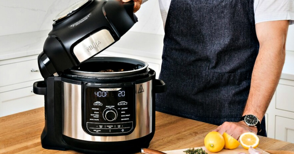 Ninja Foodi Deluxe Xl Pressure Cooker As Low As 179 49 Shipped Regularly 350 Get 30 Kohl S Cash Hip2save