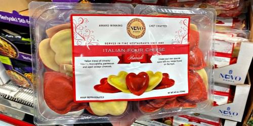 Heart-Shaped Ravioli Now at Costco | Cute Valentine's Day Dinner Idea