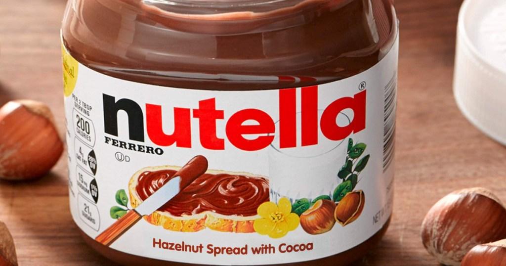 Big jar of Nutella Hazelnut Spread