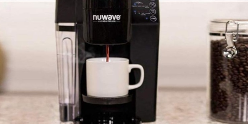 Nuwave Single Serve Coffee Maker Only $40.79 at JCPenney (Regularly $160)