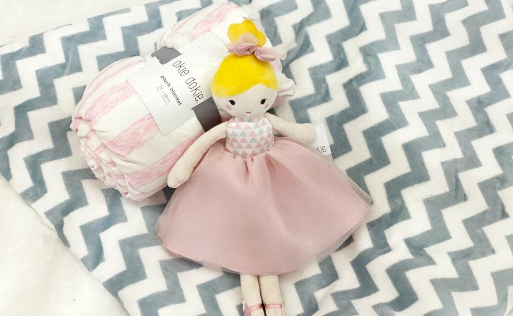 Okie Dokie blonde princess doll