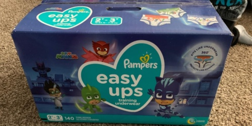 Pampers Easy Ups 140-Count Only $31 or Less Shipped on Amazon