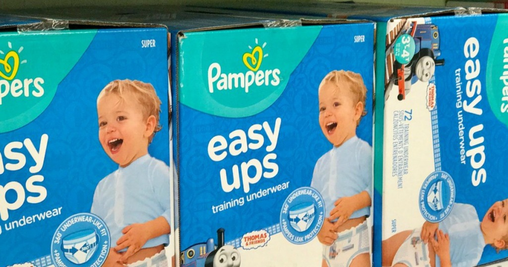Pampers Easy Ups Diapers
