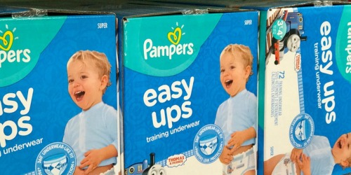 Pampers Easy Ups Club-Size Package Only $29.48 Shipped or Less on Amazon
