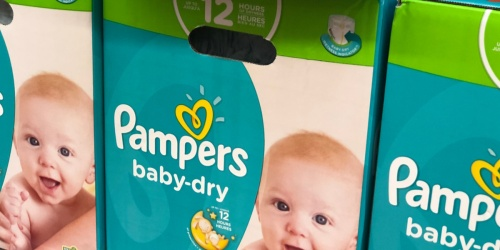 Pampers Diapers 1-Month Supply from $39.68 Shipped After Rebate on Amazon