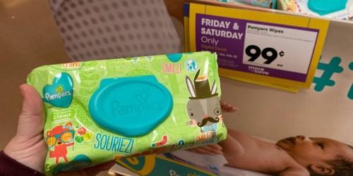 Kroger 2-Day Deals: Pampers Wipes Only 99¢,  HUGE Keebler Snack Box Just $4.99 + More