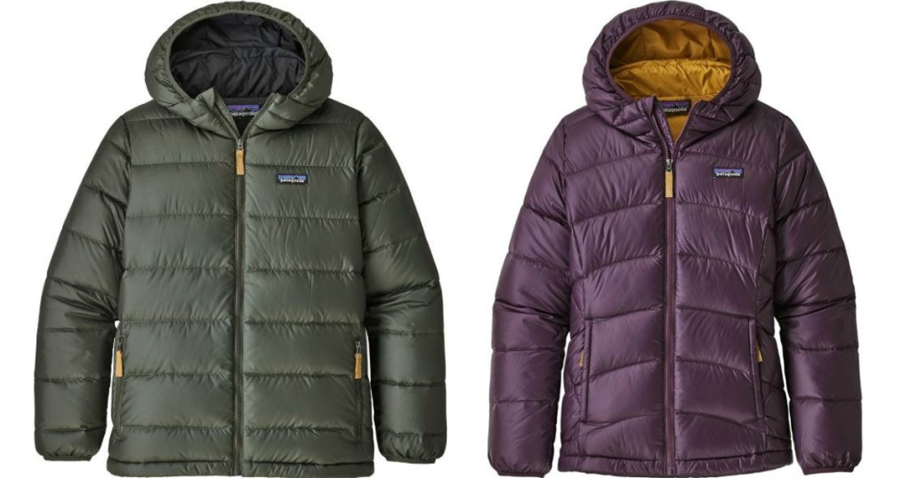 two kids Patagonia jackets